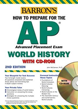 Barron's How to Prepare for the AP: World History [With CDROM] 9780764178795