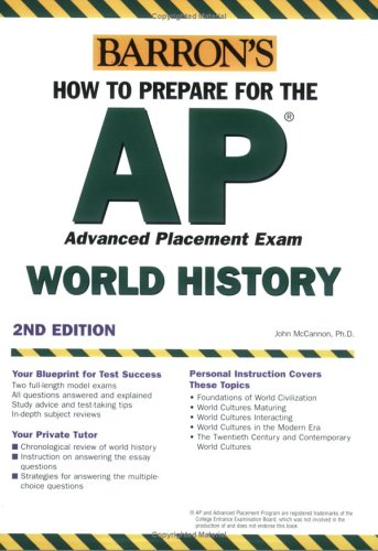 Barron's How to Prepare for the AP World History Advanced Placement Exam 9780764132711