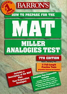 Barron's How to Prepare for the MAT: Miller Analogies Test 9780764104596