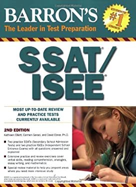 Barron's How to Prepare for the SSAT/ISEE 9780764140907