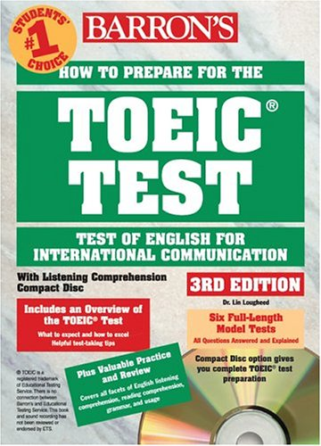 Barron's How to Prepare for the TOEIC: Test of English for International Communication [With 4 CDROMs] 9780764175145