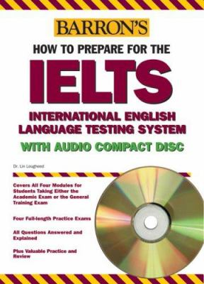 Barron's Ielts with Audio CD: International English Language Testing System [With Audio CD] 9780764179358