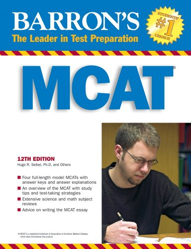 Barron's MCAT: Medical College Admission Test 9780764138010