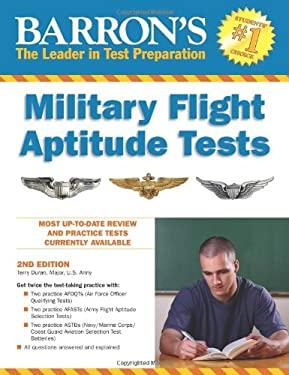 Barron's Military Flight Aptitude Tests 9780764145735