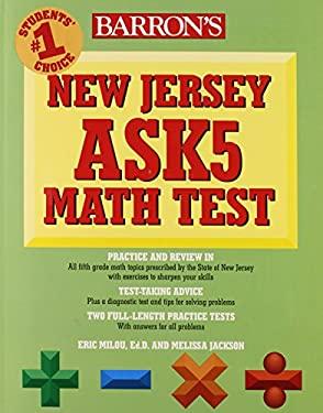 Barron's New Jersey Ask5 Math Test 9780764142383