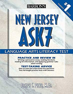 Barron's New Jersey Ask7 Language Arts Literacy Test 9780764140198