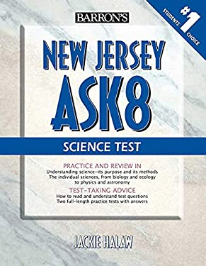 Barron's New Jersey Ask8 Science Test 9780764140280