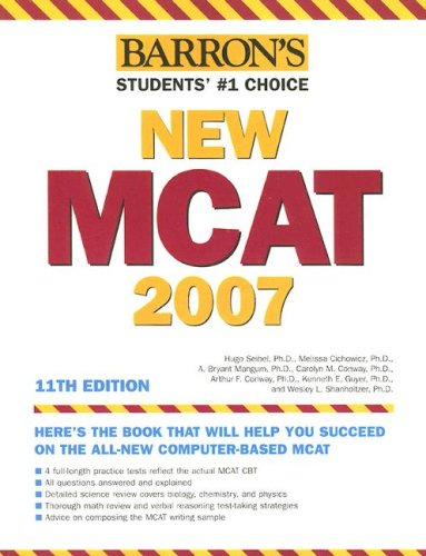 Barron's New MCAT: Medical College Admission Test 9780764137549
