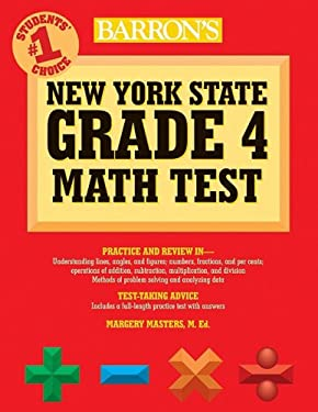 Barron's New York State Grade 4 Math Test 9780764140266