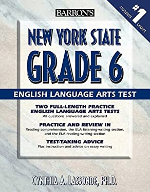 Barron's New York State Grade 6 English Language Arts Test 9780764140303