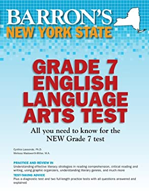 Barron's New York State Grade 7 English Language Arts Test 9780764145131