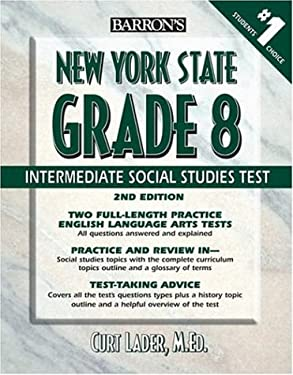 Barron's New York State Grade 8 Intermediate Social Studies Test