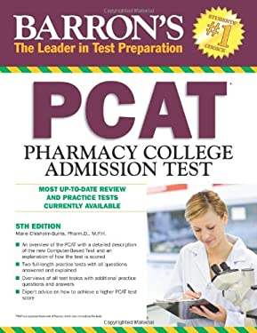 Barron's PCAT: Pharmacy College Admission Test 9780764146183