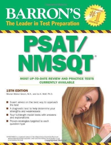 Barron's PSAT/NMSQT 9780764144349
