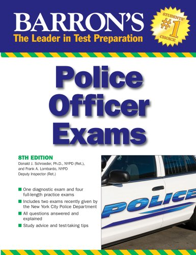 Barron's Police Officer Exam 9780764140914