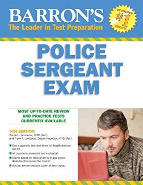 Barron's Police Sergeant Examination 9780764143816