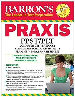 Barron's Praxis, 6th Edition 9780764146886