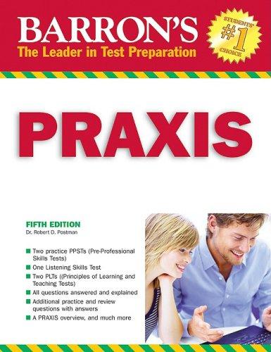 Barron's Praxis: PPST/PLT 9780764139970