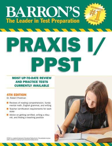 Barron's PRAXIS I/PPST 9780764143120