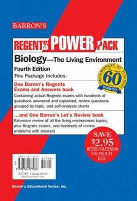 Barron's Regents Power Pack Biology Set 9780764177286