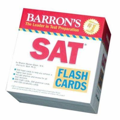 Barron's SAT Flash Cards