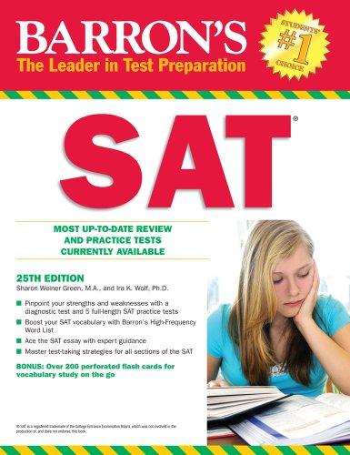Barron's SAT 9780764144363