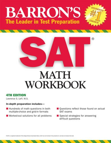 Barron's SAT Math Workbook 9780764141966