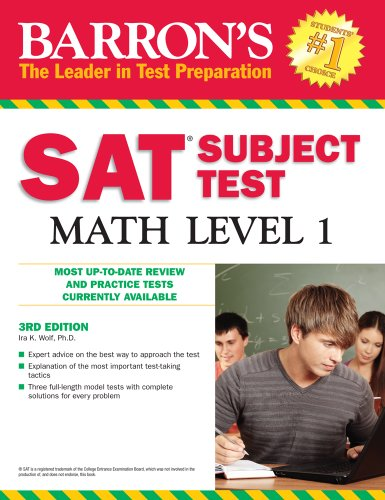 Barron's SAT Subject Test Math Level 1 9780764143557