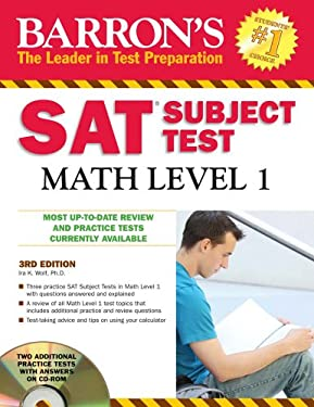 Barron's SAT Subject Test Math, Level 1 [With CDROM] 9780764196836