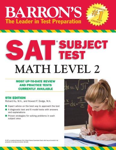 Barron's SAT Subject Test Math Level 2 9780764143540