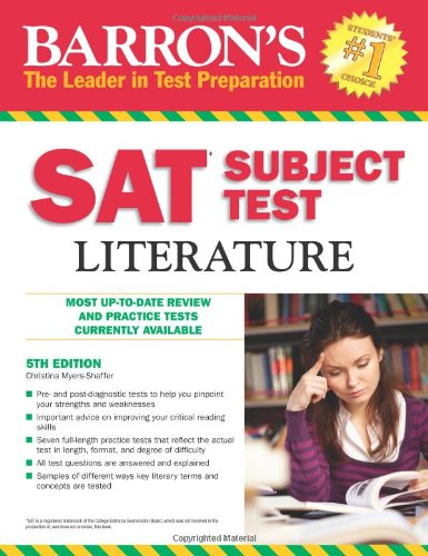 Barron's SAT Subject Test: Literature 9780764146152