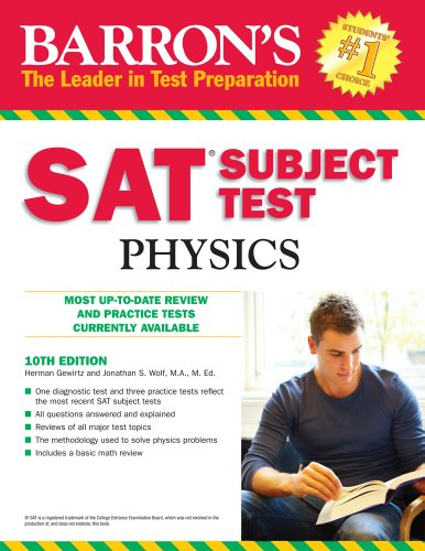 Barron's SAT Subject Test Physics 9780764143533