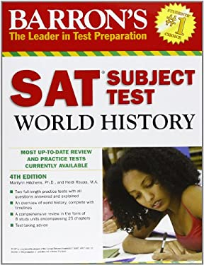 Barron's SAT Subject Test World History 9780764144844