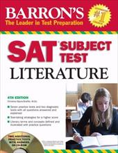 Barron's SAT Subject Test in Literature [With CDROM]