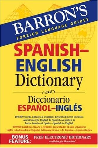 Barron's Spanish-English Dictionary: Diccionario Espanol-Ingles