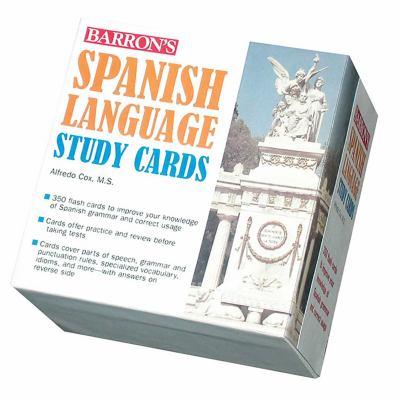 Barron's Spanish Language Study Cards 9780764193873