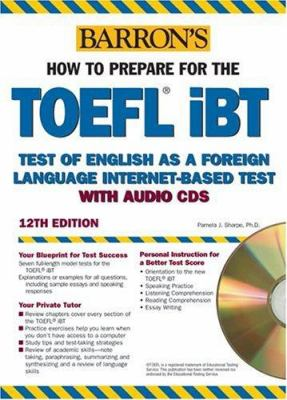 Barron's TOEFL IBT: Test of English as a Foreign Language Internet-Based Test [With 10 Disk] 9780764179174