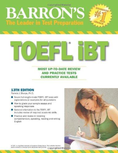 Barron's TOEFL Ibt 9780764143687