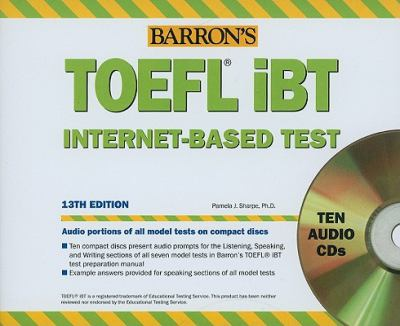 Barron's TOEFL iBT Internet-Based Test 9780764197000