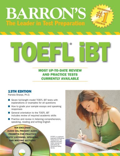 Barron's TOEFL iBT [With 4 CDs] 9780764196997
