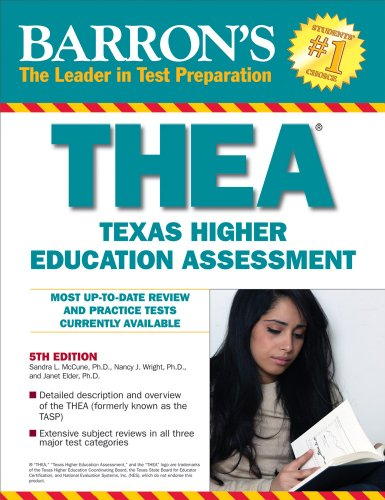 Barron's THEA: The Texas Higher Education Assessment 9780764141980