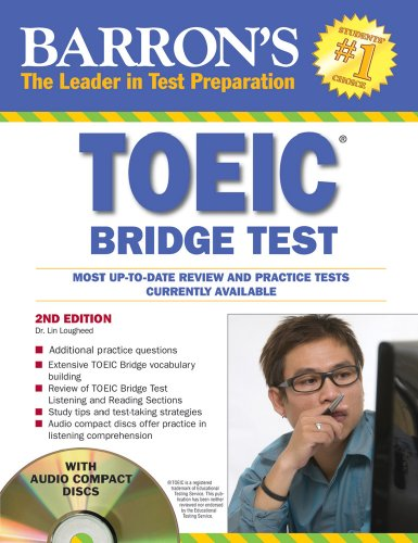 Barron's TOEIC Bridge Test: Test of English for International Communication [With 2 CDs] 9780764197116