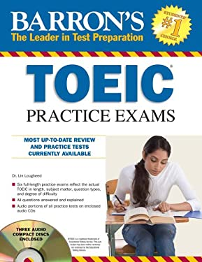 Barron's TOEIC Practice Exams [With 4 CDs]