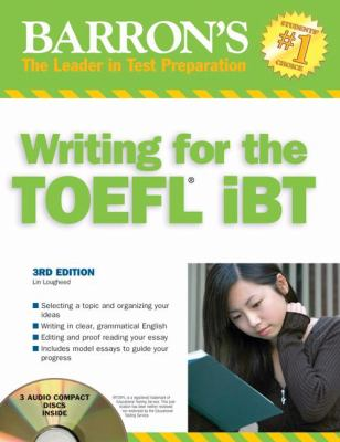 Barron's Writing for the TOEFL iBT [With CD] 9780764195570