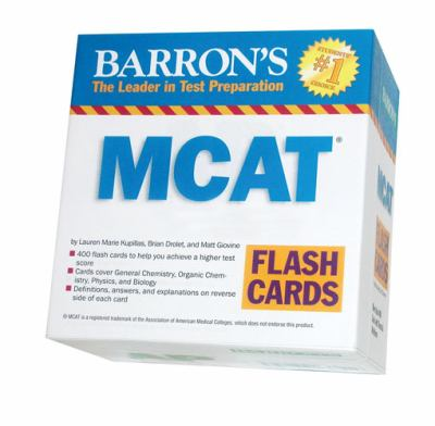 Barron's (TM)S MCAT Flash Cards 9780764196928