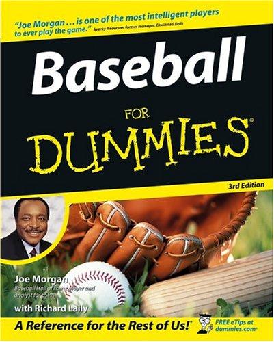 Baseball for Dummies 9780764575372