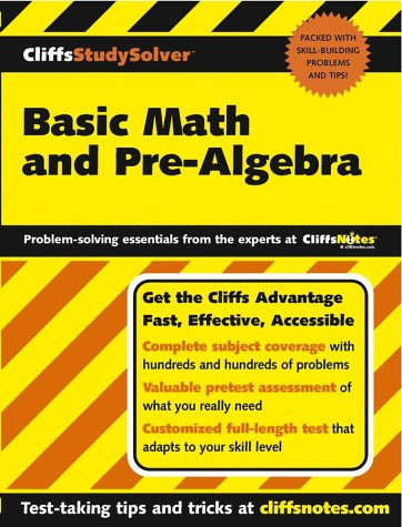 Basic Math and Pre-Algebra 9780764537646