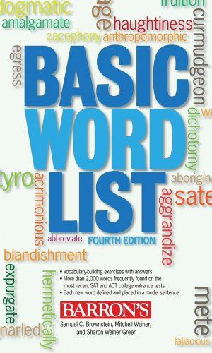 Basic Word List 9780764141195