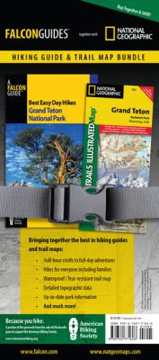 Best Easy Day Hiking Guide and Trail Map Bundle: Grand Teton National Park 9780762771608