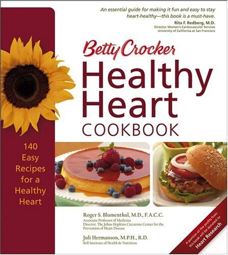 Betty Crocker Healthy Heart Cookbook 9780764574245